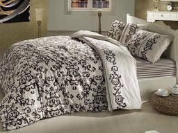 Комплект постельного белья полуторный Altinbasak Suave Kahve