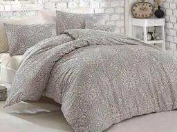 Комплект постельного белья полуторный Altinbasak Rozi Bej