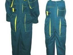 Комплект рабочий, куртка и полукомбинезон, спецодежда пошив