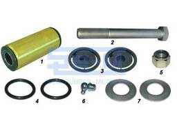 Комплект ремонтный рессоры Renault 1болт+1втулка+пыльники. ..