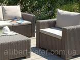 Комплект садовой мебели Allibert by Keter Moorea - California Duo Lounge Set. .. - фото 7