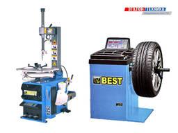 """Комплект шиномонтажного оборудования до 24"""" ShiningBerg (Best) T524 W62"""