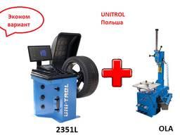 Комплект шиномонтажного оборудования Ola unitrol 2351L
