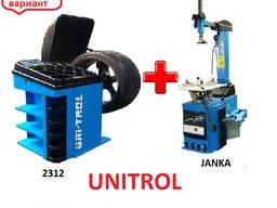 Комплект шиномонтажный Unitrol 2312 Janka