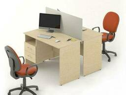 Комплект столов M-concept Сенс 10 Береза