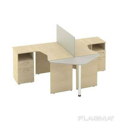 Комплект столов M-concept Сенс 12 Береза