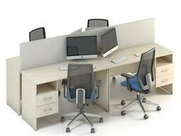 Комплект столов M-concept Сенс 15 Береза