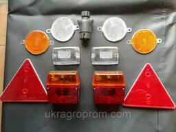 Комплект светотехники на легковой прицеп