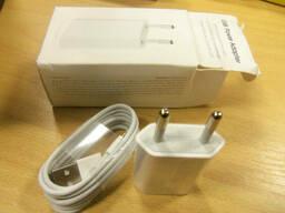 Комплект СЗУ USB адаптер + кабель lightning длы iPhone. ..