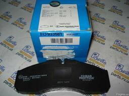 Комплект тормозных колодок, дисковый тормоз RVI Mascott 99-2