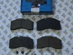 Комплект тормозных колодок, дисковый тормоз.