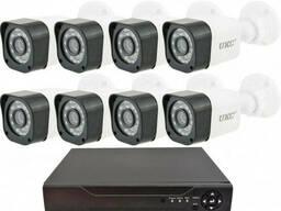 Комплект видеонаблюдения беспроводной UKC D001-8CH Full...
