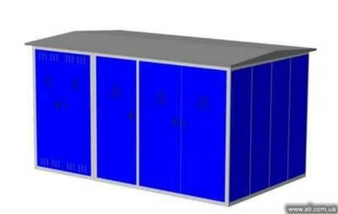 Комплектная трансформаторная подстанция (КТП) КТПГС