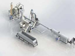 Комплектный завод по производству торфобрикета (4 т/ч)