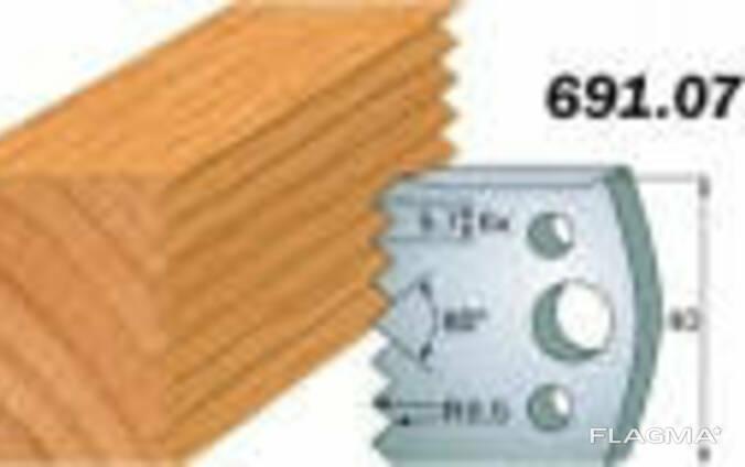 Комплекты фигурных ножей CMT серии 690/691 #077