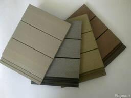 Древесно-полимерный композит для террас и фасадов