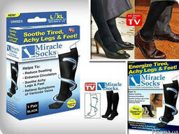 Компрессионные носки Miracle Socks, для ног.