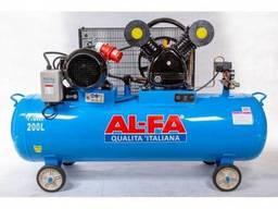 Компрессор Al-Fa ALC200-2 (200 литров) 2 Поршня