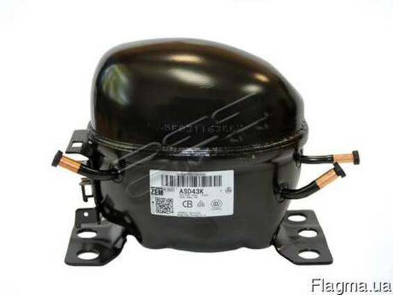 Компрессор для холодильника ASD43K L ZEM, фреон R134, 115 Вт