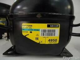 Компрессор для холодильника GVY 75 AN, фреон R134, Secop