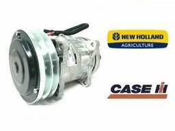 Компрессор кондиционера Case, New Holland 7H15 2GV 152 mm. 4478, 4609 (1101177)