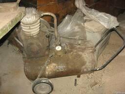 Компрессор на колесах с электродвигателем
