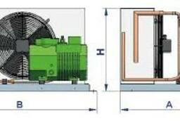 Компрессорный агрегат на базе компрессора 4EC-6.2Y Bitzer