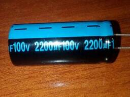 Конденсатор 2200/100V 2250 105C Jamicon)