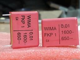 Конденсатор пленочный WIMA 10nF (0, 01uF) ±10% 1600V -18грн/ш