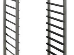 Кондитерские стеллажи на колесах (нержавеющая сталь) шпилька