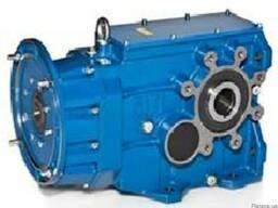 Коническо-цилиндрический мотор-редуктор серии MBH_ - фото 2