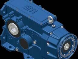 Коническо-цилиндрический мотор-редуктор серии MBH_ - фото 3