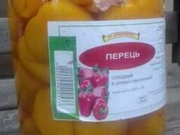 Консервированный сладкий перец 3л.