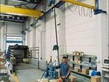 Консольный поворотный настенный кран электрический - фото 2