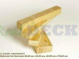 Конструкционный брус из сибирской лиственницы