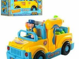 Конструктор Huile toys машинка-грузовик с набором. ..