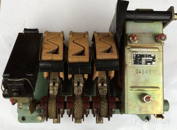 Контактор ES-160/3 160А 220В;