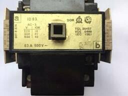 Контактор ID-63, AC-3, 63A, 500V DDR