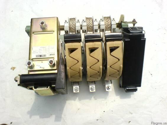 Контакторы ES100, ES160, ES250, ES400, ES630