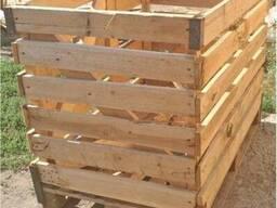 Контейнер деревянный для овощей