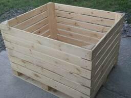 Контейнер деревянный для яблок, ящик для яблок
