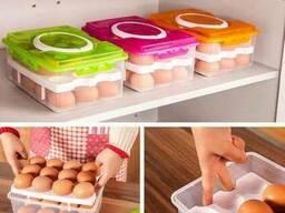 Контейнер для хранения яиц в холодильнике на 24 шт