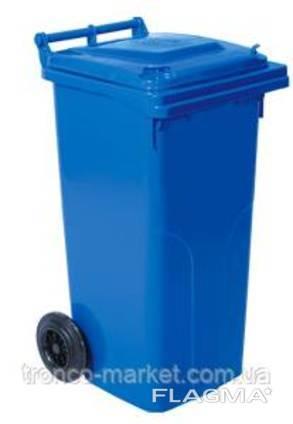 Контейнер для мусора на колесах 120л, пластик, Украина. ..
