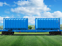 Container for transportation and storage of bulk cargo