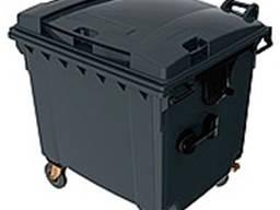 Контейнер для сбора мусора 1100 литров