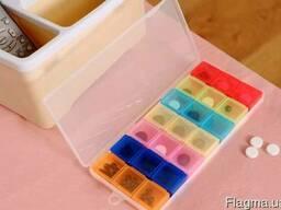 Контейнер для таблеток таблетница таблеточница недельная