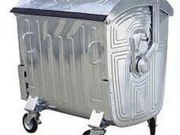 Контейнер металевий для збору ТПВ, євро стандарт