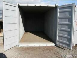 Морской контейнер, 20 футов