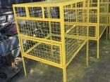 Контейнер сетчатый для сбора ПЭТ тары 0.6 1 и 1.5 м. куб - фото 4