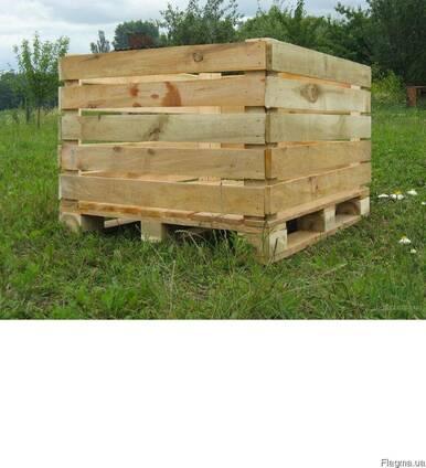 Контейнер яблочный деревянный